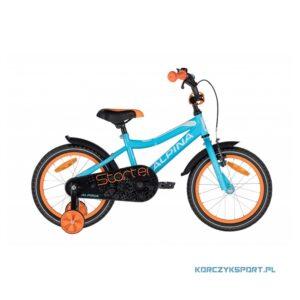 rower dziecięcy Alpina Starter Blue Orange 16 2020 sklep