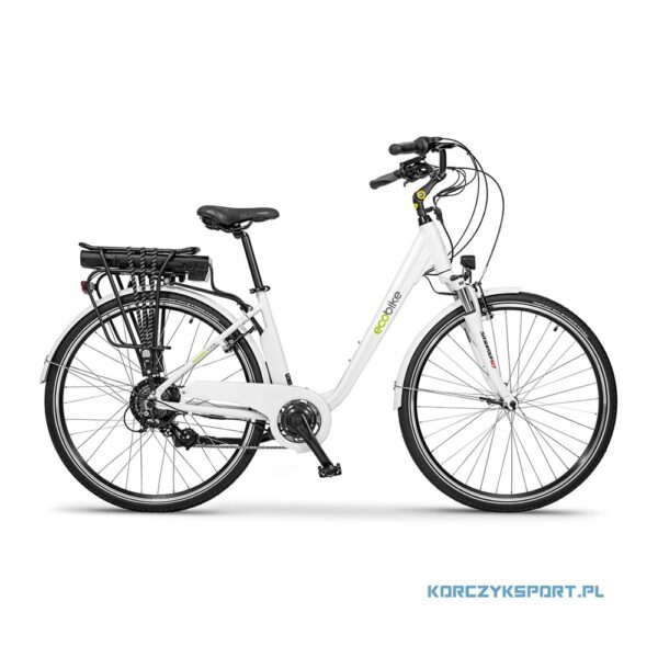 miejski rower elektryczny EcoBike Trafik White 28 2020 sklep