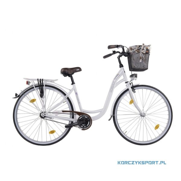 rower miejski Cossack Flow Line 28 Biała Perła 2020 sklep