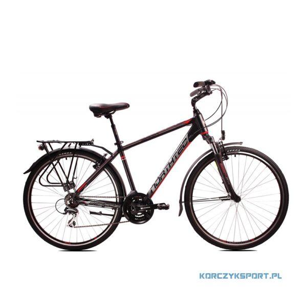 rower trekkingowy Northtec Bergon 28 18 czarno-czerwony 2020 sklep