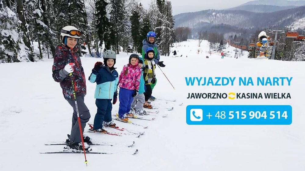 autokarowe przejazdy na narty w 2019 roku Jaworzno Kasina Wielka