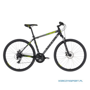 Rower crossowy Kellys Cliff 70 2021 Black Green XL
