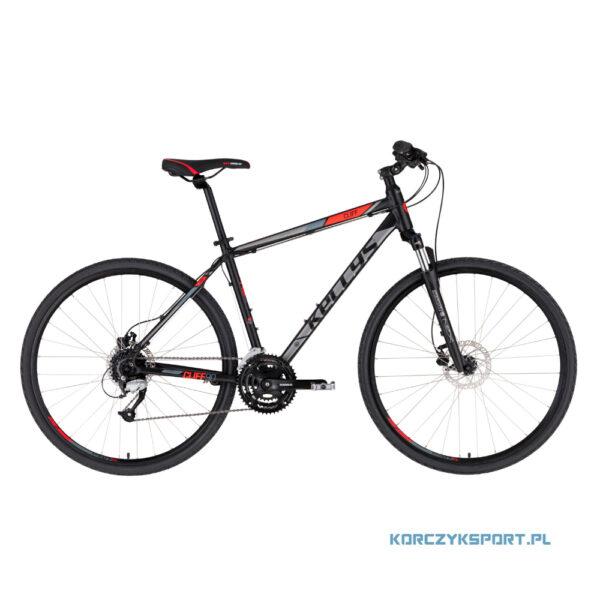 Rower crossowy Kellys Cliff 90 2021 Black Red M