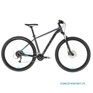 "Rower górski mtb-xc Kellys Spider 70 Black 29"" M 2021"