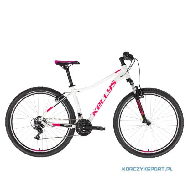 """Rower górski mtb-xc Kellys Vanity 10 White 26"""" S 2021"""