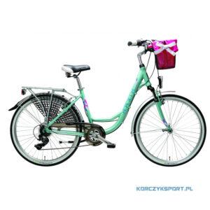 "Rower miejski Maxim MC 1.3.7 26"" 17 Turkusowy Matowy 2021"